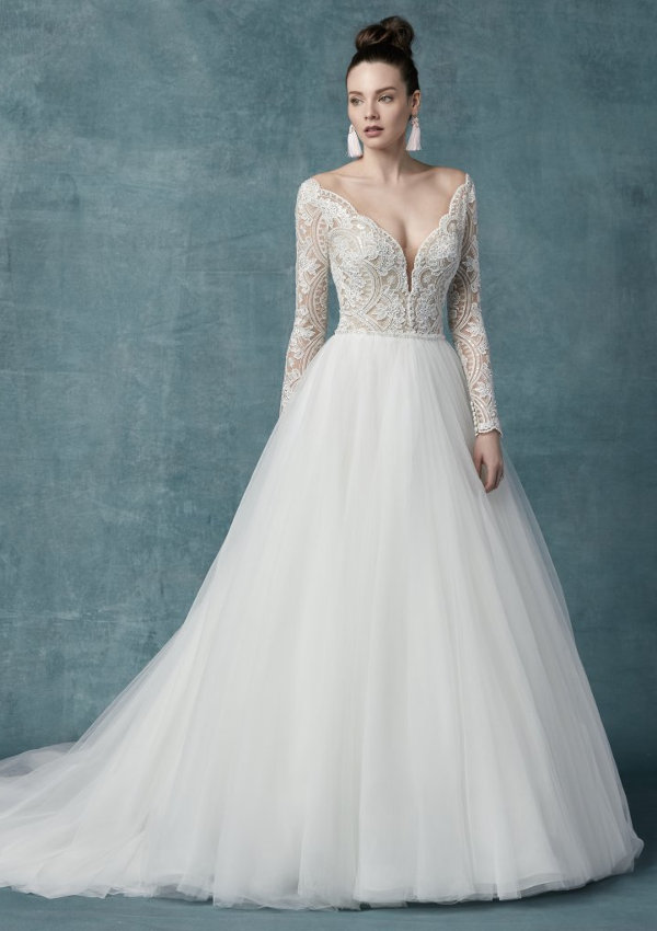 Mallory Dawn, by Maggie Sottero